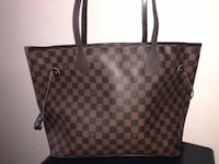 Tote bag Louis Vuitton marrone e nero San Vitaliano, 80030