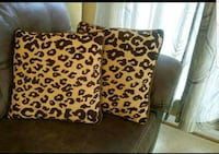 Leopard Pillows  Clarksburg