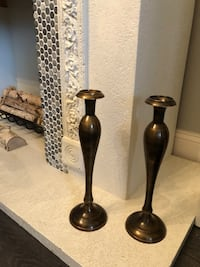 Two brass candlesticks from India Lehigh Acres, 33974