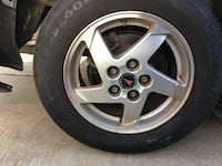 Pontiac rims with tires Fontana, 92335
