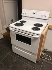 "Frigidaire 30"" 4 Burner Electric Range Washington, 20002"