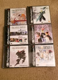 Final Fantasy PS1 Collection 9 Games Alexandria, 22304