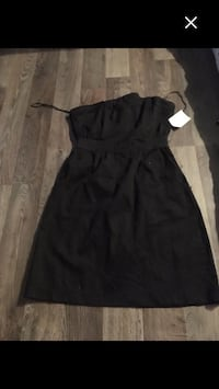 black scoop neck sleeveless dress Regina, S4T 3T9