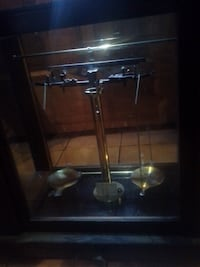Antique Gold Counterweight  Scale null