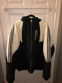 black and white zip-up jacket Pickering, L1V 5W9