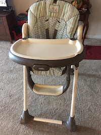 baby's white and gray high chair Hagerstown, 21740