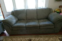 gray suede 3-seat sofa Falls Church