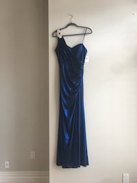 Brand new!! Metallic blue evening dress Vaughan, L4J 0H9