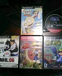 PlayStation 2 games $25 for all or $5 a piece  Gray, 31032