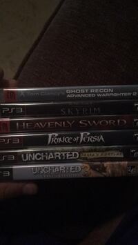 four assorted Sony PS3 game cases Winnipeg, R2X 2C6