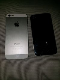 space gray iPhone 5s with black case Los Angeles, 90011