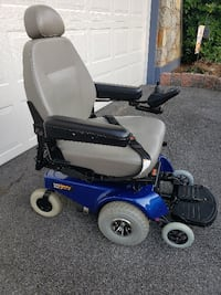 Pride Mobility Jazzy 1113 ATS Power Chair Reading