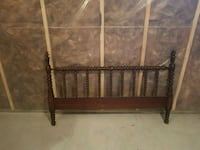 brown wooden headboard and footboard Division No. 6, T2X 0Y9
