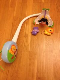 Fisher-Price dyreseng mobil