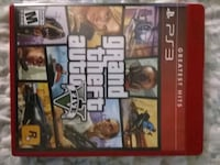 Grand Theft Auto Five PS3 game case Jacksonville, 32209