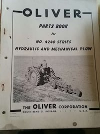 oliver parts book for no. 4240 series hydraulic an Warwick, 02889