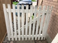 Picket Fence Gate w/hinges St Catharines, L2S 3C4