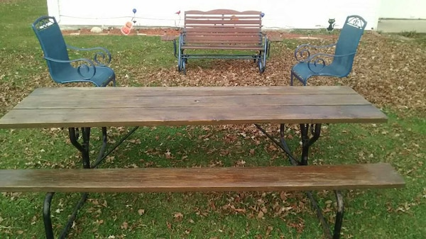Used Huge Picnic Table For Sale In Lima Letgo - Huge picnic table