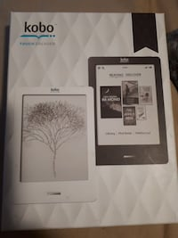 KOBO TOUCH E-READER FIRST 60$ TAKES IT Lakeshore, N0R 1A0