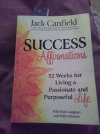 Success Affirmations by Jack Canfield book Newport, 02840