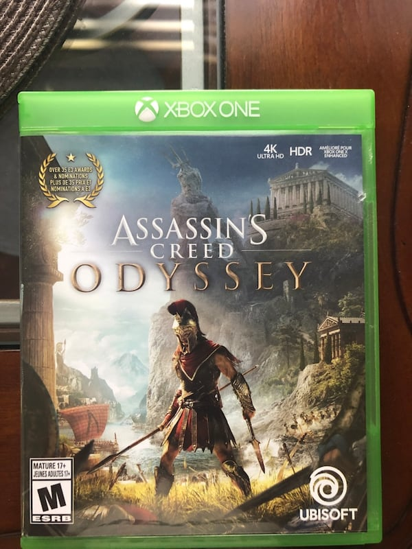 Assassin's creed odyssey Xbox one 684dceb9-0db7-472c-8de9-93f1d5acc7b1