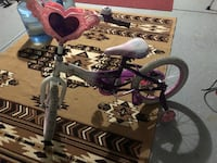 purple and white bicycle with training wheels Lathrop, 95330