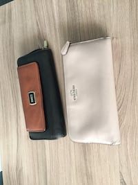 Coach and roots wallet one for 22 for 40 no rips no damage Mississauga, L5B