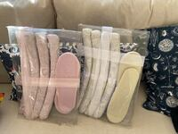 Bridal hangers and slippers set Milton, L9T 7A1