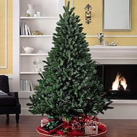 CHRISTMAS TREE 7ft with ornaments Port Coquitlam, V3C 4W5