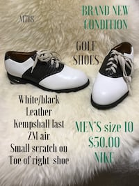 pair of white-and-black leather shoes Saskatoon, S7J 2L7