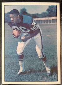 Indianapolis Colts Lenny Moore Football Card   Colorado Springs, 80911