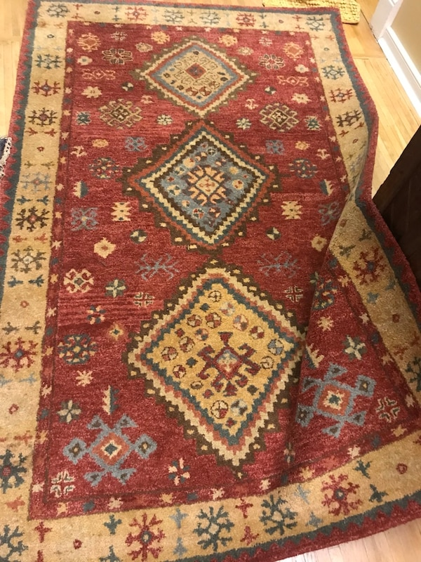 Used 5x8 Pottery Barn Wool Rug For Sale In Louisville Letgo