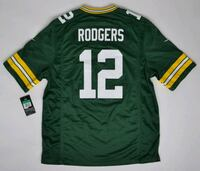 aaron rodgers green bay packers jersey  Hamilton, L8N 1X2