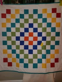"""Baby Quilt with Machine Quilting, Size: 43"""" x 43"""" Cambridge, N1R 1N2"""