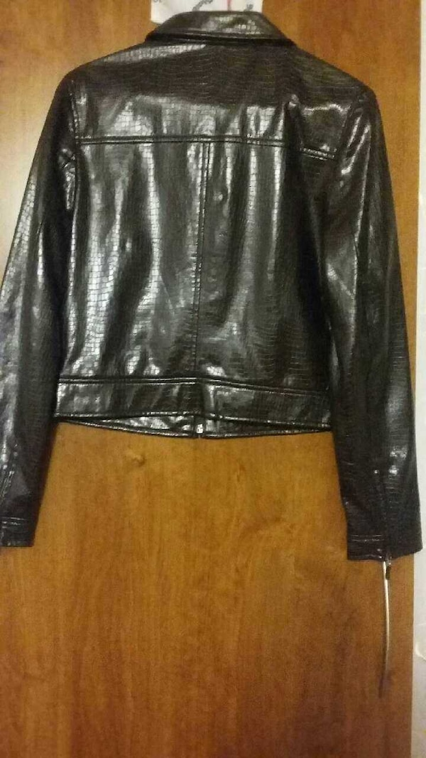 Mexx, pleather jacket 1