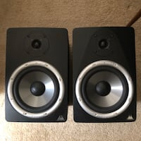 two black-and-gray speakers Fairfax, 22033