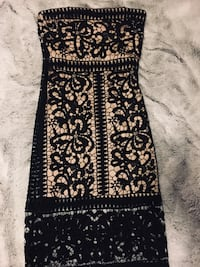 Black and Nude Dress Ceres, 95307