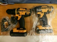 BOSTICH IMPACT and DRILL.1 battery and charger