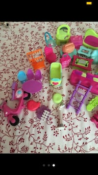 Pack Polly pocket muebles Blanes