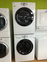 Kenmore white stackable washer and dryer set  Woodbridge, 22191