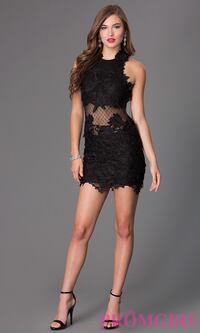 CQbyCQ black lace dress - size small Vaughan, L6A 1M7