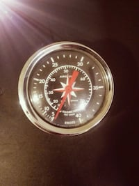 VINTAGE AIRGUIDE SPEEDOMETER TO POWERBOAT Oslo, 0177