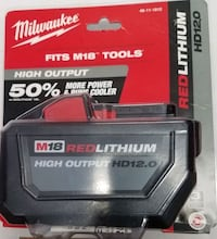 Milwaukee M18 12.0ah  Richmond Hill, L4B 4K7