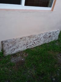 white and gray floral mattress Hialeah