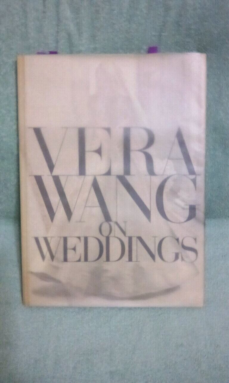 Photo Vera Wang wedding book