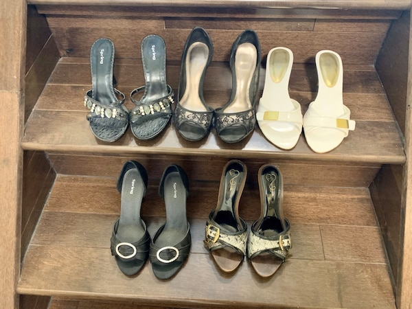 Variety of heels $20 for all f31f6b35-9433-4b32-8850-c361e1001448