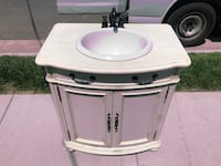 "White and gray vanity 30"" Bluemont, 20135"