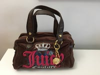 Brown shamois juicy couture handbag Montréal, H3H 2J4