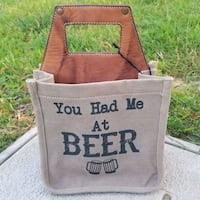 "Mona B ""You Had Me at Beer"" Caddy Hand Bag Philadelphia, 19128"