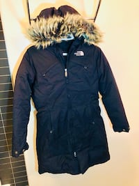 Women's Black North Face Down Jacket in XS